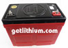 Lithionics Battery lithium-ion high performance lightweight battery for RV, sailboats, yachts, car, truck, marine and more
