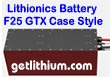 Lithionics Battery 24 Volt lithium-ion high performance GTX series lightweight battery for RV, sailboats, yachts, car, truck, marine and solar power systems