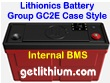 Lithionics Battery 12 Volt lithium-ion high performance lightweight battery with BMS for RV, sailboats, yachts, car, truck, marine and solar power systems