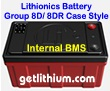 Lithionics Battery GT Series 12 Volt lithium-ion high performance lightweight battery for RV, sailboats, yachts, marine, solar energy storage and more