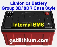 Click here for more information about the Lithionics marine lithium ion battery systems