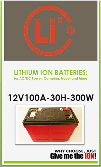 Lithium ion backup battery with GFCI outlets and built-in inverter