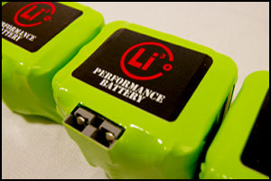 We can build a custom lithium ion battery to your specifications!