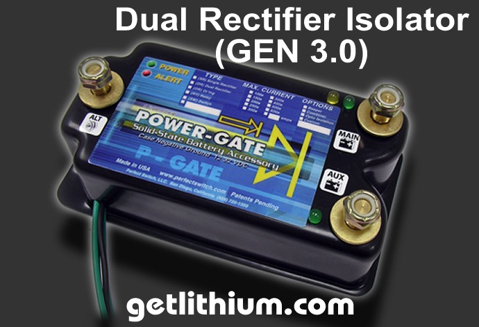 Perfect Switchdual Rectifier Isolator Gen on Off Road Dual Light Switch