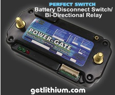 Perfect Switch Power-Gate solid state Battery Disconnect Switch