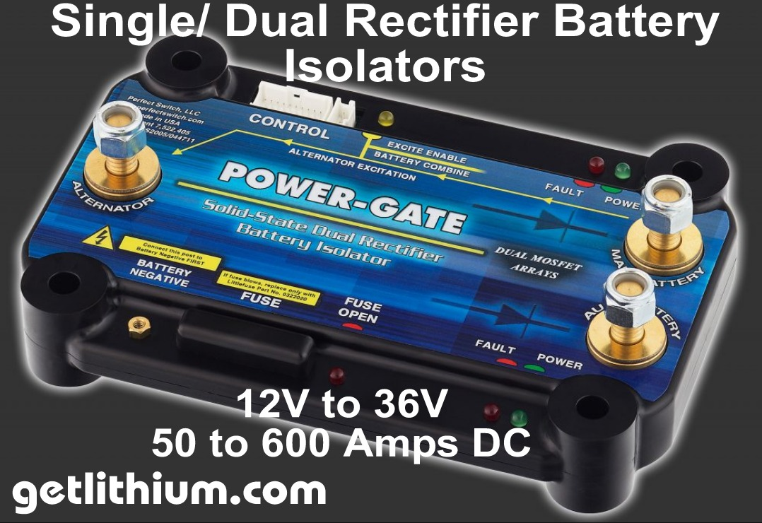 Perfect Switch Power Gate Solid State Mosfet Battery Isolator Relay Canada Single And Dual Rectifier Isolators