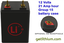 Click here for details on this 12 volt 21 lithium ion amp hour battery...