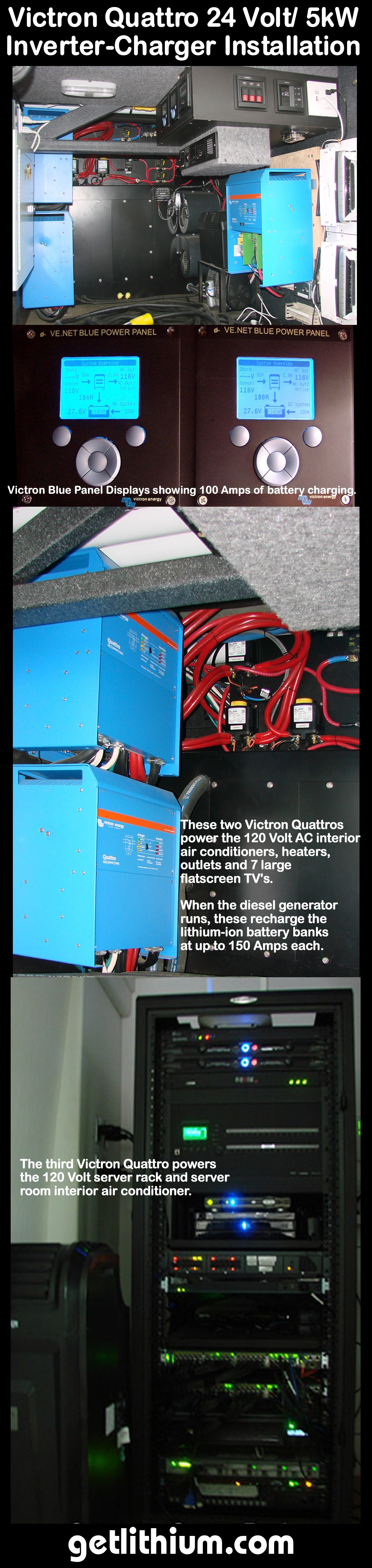 Lithium Ion Battery Installations Page Some Of The Lithionics Battery Lithium Ion Battery Projects We Have Completed For Rv And Marine Applications