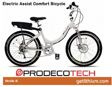 Prodecotech high performance electric bicycle