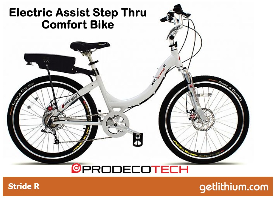 Prodecotech Stride R 8 Speed Electric Assist Comfort