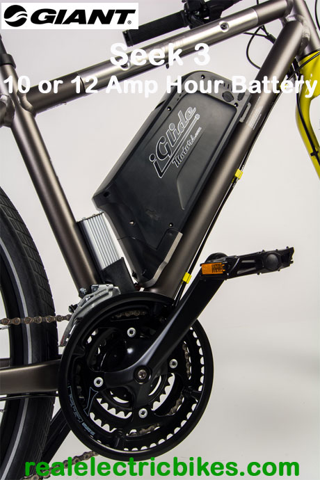 Giant Seek 3 Size Small Electric Assist Commuter Bike