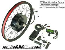 Click here for more details on our ebike website RealElectricBikes.com...