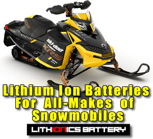 Click here for lithium ion batteries for snowmobiles