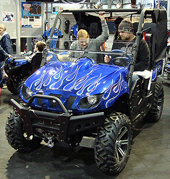 ATV, quad and Side by Side lithium ion batteries