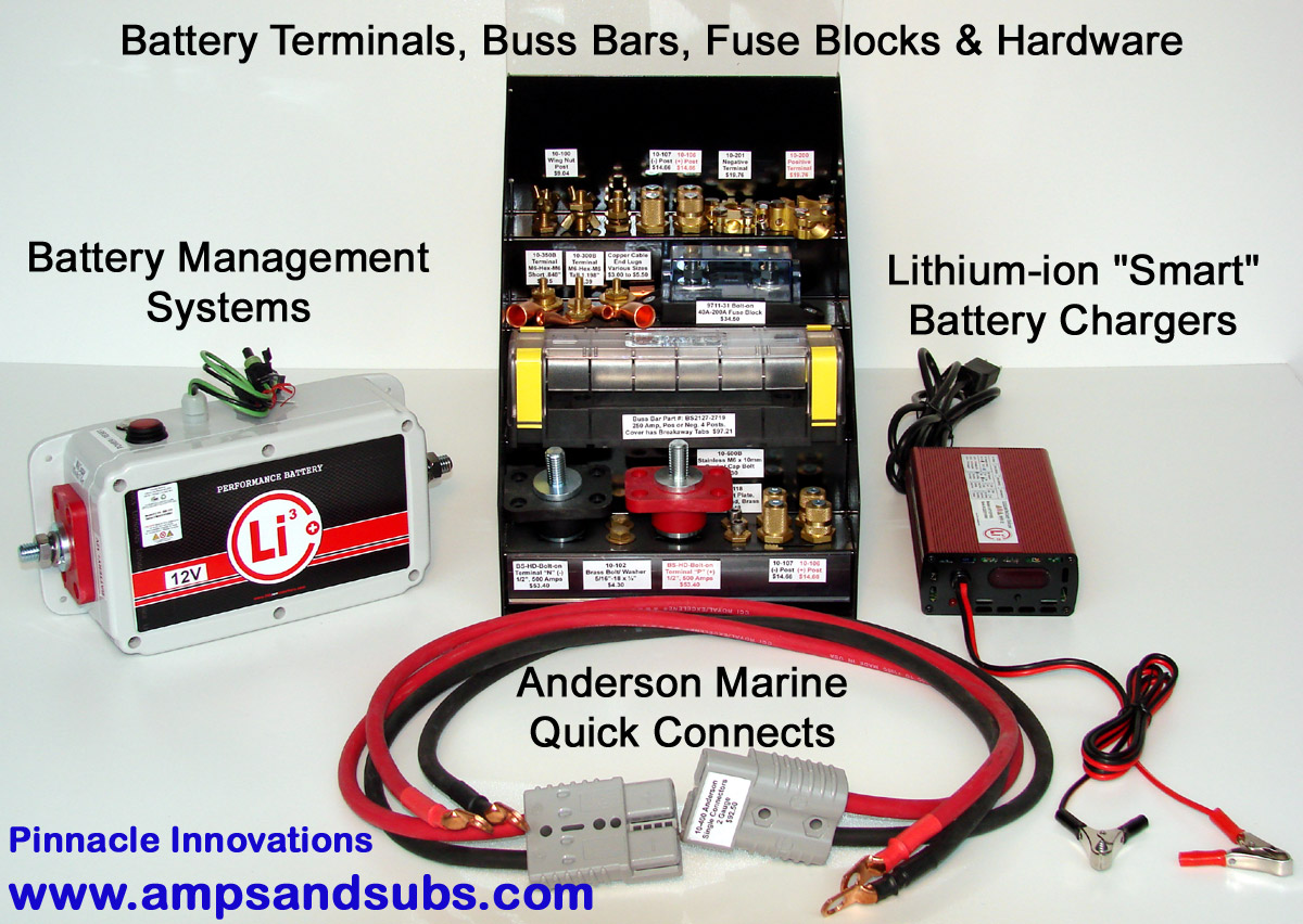 "Lithionics Battery ""Smart"" Lithium-ion Battery Chargers, Battery MAnagement  Systems, Copper"