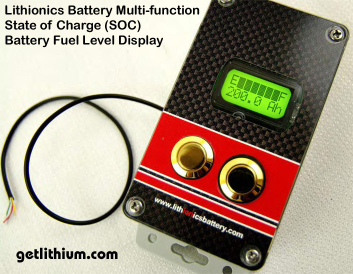 State Of Charge Battery Monitor : Battery state of charge gauges and