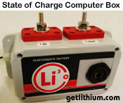 Lithium-ion NeverDie external State of Charge Computer Controller box