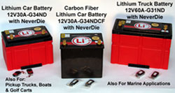 Lightweight, affordable, powerful lithium-ion batteries