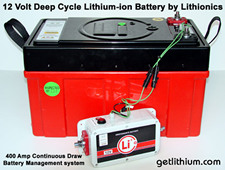 Click here for details on this deep cycle RV, Marine and solar power lithium-ion battery...