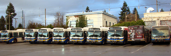 Bus Fleets not only save in fuel but also with our special Fleet Pricing Program