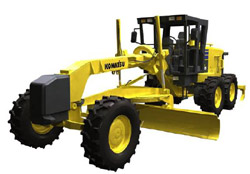 Komatsu and other makes of road graders will gain improved performance and reliability with our lithium ion batteries