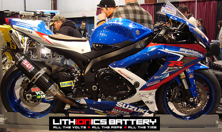 Motorcycle Photo Gallery: Lithionics Lithium Ion Batteries
