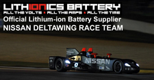 Lithionics Lithium-ion Batteries are the high performance alternative for race cars...