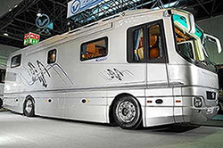 Luxury Recreational Vehicle coaches with high power needs really benefit from our lithium ion batteries