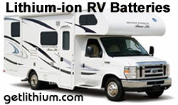 Luxury Recreational Vehicles of all sizes can benefit from our lithium ion batteries