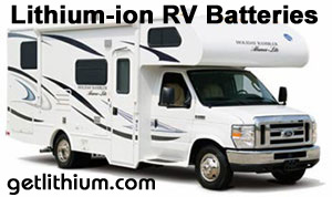 deep cycle lithium-ion batteries for Class a, B and C motorhomes