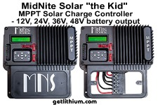 MidNite Solar The Kid MPPT solar charge controllers