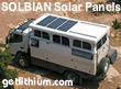 Solbian semi-flexible high output solar panels - perfect for RV and offroad