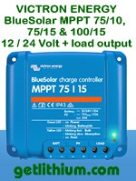 Victron Energy BlueSolar MPPT charge controllers