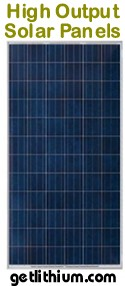 We also offer a great selection of solar panels suitable for RV's, yachts and sailboats of all sizes - including durable flexible solar panels that can be walked on.