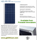 HES 320 Watt solar panel - click for a larger image