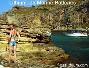 deep cycle lithium-ion batteries for luxury RV  5th Wheel Travel Trailers