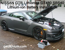 Click on the Nissan GTR for a larger image....