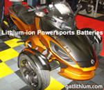 Lithionics lithium-ion batteries for ATV's, motorcycles, quads, Can-Am Roadsters, side by sides and more!