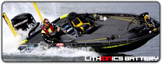 Lithium ion batteries for competition boats, yachts, sailboats and off-road vehicles