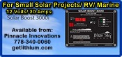 Blue Sky Energy solar charge controllers