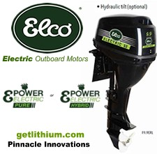 Click here for more information on Elco's new 5HP, 7HP and 9.9HP electric outboard motors...