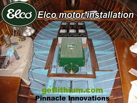Click here for more Elco electric marine engine photos..