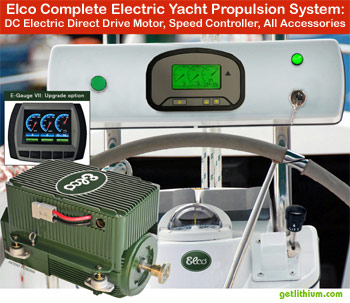 Convert your sailboat or yacht to purely electric motor propulsion or hybrid electric motor propulsion. Click here for details...