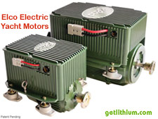 6 horsepower to 200HP electric boat motors - high efficiency and powered by lithium-ion batteries