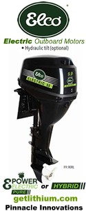 Check out the lineup of Elco Electric Outboard Motors: Elco EP-5 electric 5HP outboard motor, Elco EP-7 electric 7HP outboard engine and the Elco EP-9.9 9.9 horsepower electric outboard motor for boats, pontoon boats and sailboats