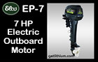 Click here for details on this Elco 7HP electric outboard motor