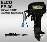 Click here for details on this Elco 30HP electric outboard motor