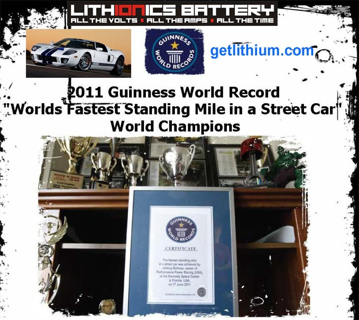Web Site Map: Guinness World Record: World's Fastest Street Legal Car By