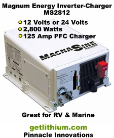 Magnum Energy Magna-Sine powerful inverter-chargers for RV, Marine and off-grid