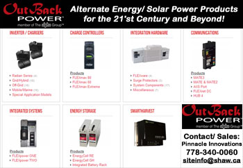 Click here to learn more about Off-Grid and Micro Grid inverter/ converter/ charger systems...